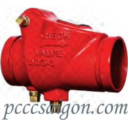 Swing Check Valve | Grooved
