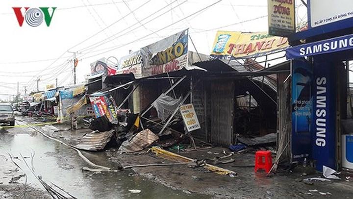 Cháy tiệm vàng tại Kiên Giang