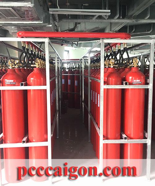 Hệ thống PCCC tự động CO2