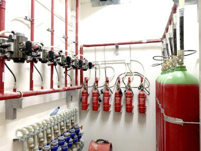Hệ thống chữa cháy bằng khí Nito