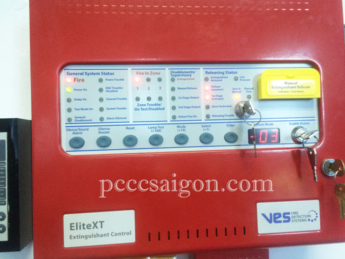 Hướng dẫn thao tác trên tủ điều khiển khi có báo động