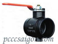 Lever Handle Butterfly Valve - Grooved