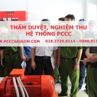 Thẩm duyệt PCCC, nghiệm thu PCCC
