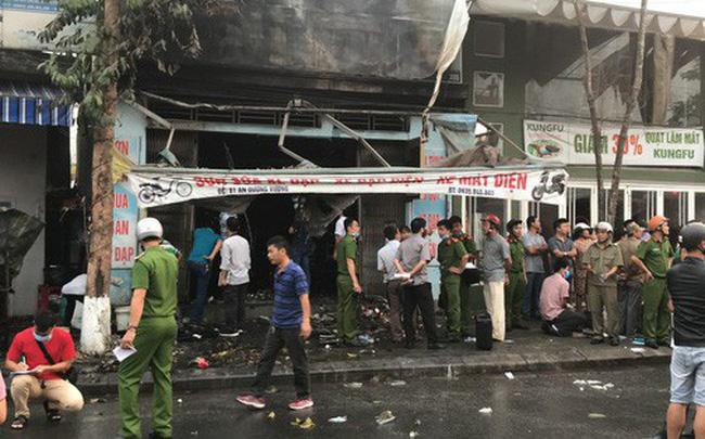 Cháy cửa hàng tại 81 đường An Dương Vương, Tp. Huế