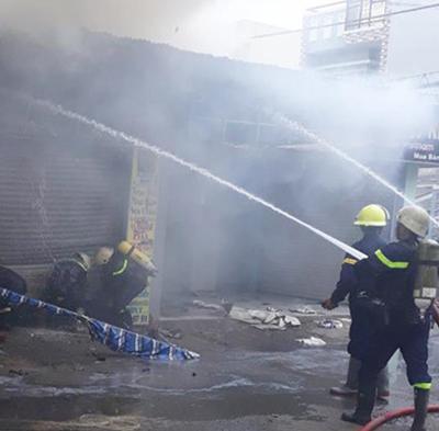 Liên tiếp xảy ra ba vụ cháy trên địa bàn Tp. HCM