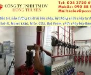 Bảo trì bảo dưỡng hệ thống PCCC