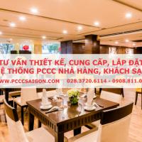 Tư vấn thiết kế, cung cấp, lắp đặt hệ thống PCCC cho nhà hàng, khách sạn,...