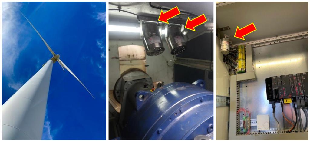 Stat-X Aerosol chữa cháy điện gió