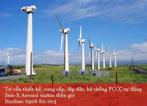 Tư vấn thiết kế hệ thống PCCC tuabin điện gió