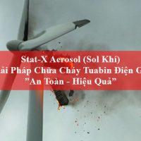 cháy tuabin điện gió gây thiệt hại lớn