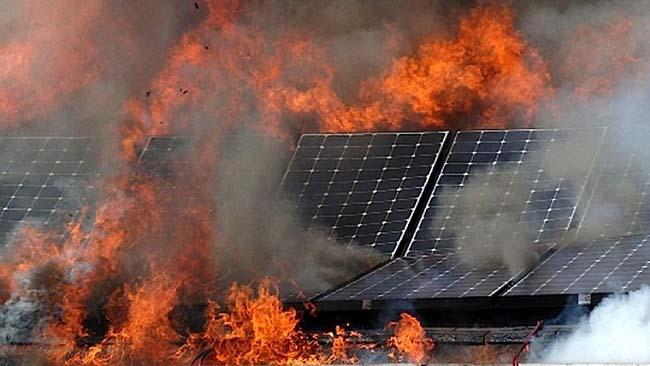 pccc điện mặt trời